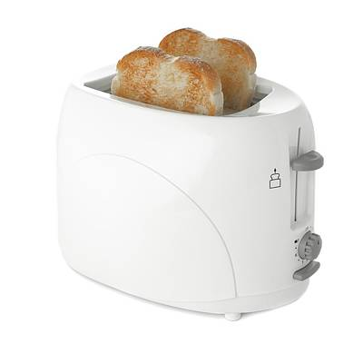 Toaster Photograph - Toaster With Toast by Science Photo Library