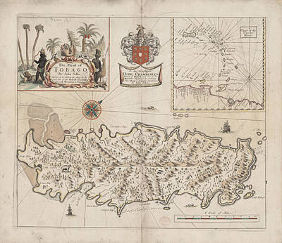 Tobago Print by British Library