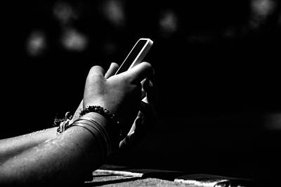 Femal Photograph - Todays Life In Our Hands by Karol Livote