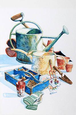 Todays Toil Tomorrows Pleasure IIi Original by Hanne Lore Koehler