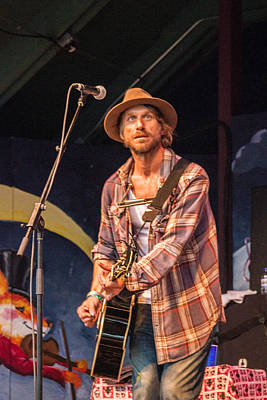 Blissfest Print featuring the photograph Todd Snider by Bill Gallagher