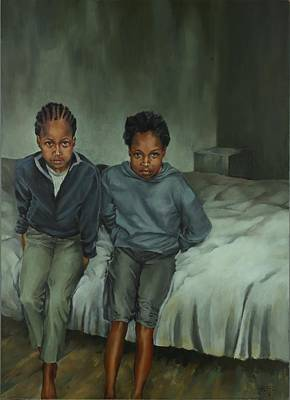 Together Alone Print by Jolante Hesse