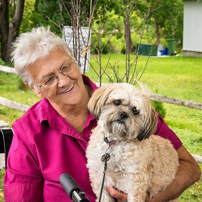 Senior Dog Photograph - Togetherness by Steve Harrington