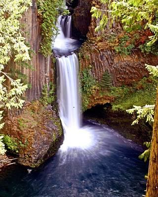 Photograph - Tokatee Falls 1 by Marty Koch