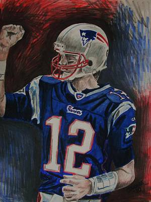 Tom Brady Original by Jeremy Moore