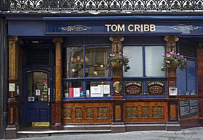 Tom Cribb Pub Print by Cheri Randolph