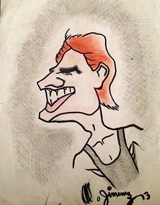 Tom Cruise Caricature Print by Mario  Jimenez