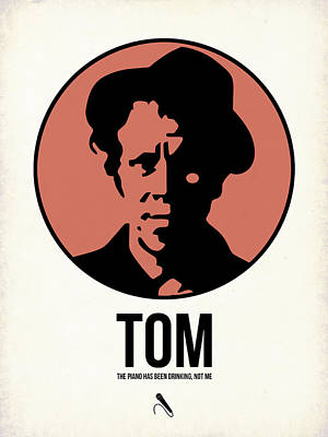 Musician Mixed Media - Tom Poster 1 by Naxart Studio