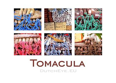 Blauw Photograph - Tomacula by John Eckhardt