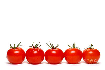 Tomatoes Print by Olivier Le Queinec