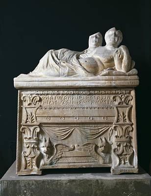 Tomb Of Calisna Sepu. 4th-3rd C. Bc Print by Everett