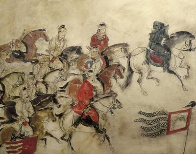 Tomb Of The Crown Prince Zhanghuai Print by Everett