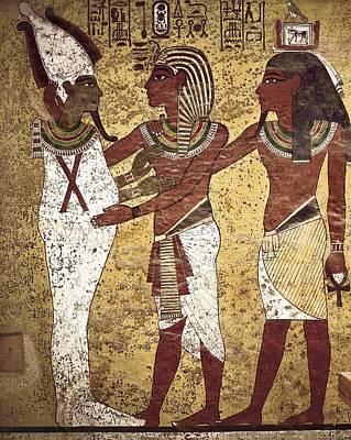Tomb Of Tutankhamun. S.xiv Bc. The Print by Everett