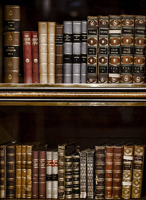 London Photograph - Tomes by Heather Applegate