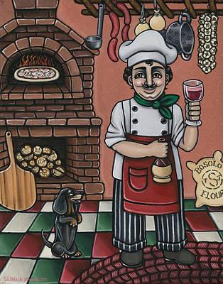 Tommys Italian Kitchen Original by Victoria De Almeida