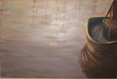 Painting - Tonal Trawler by Brent Moody