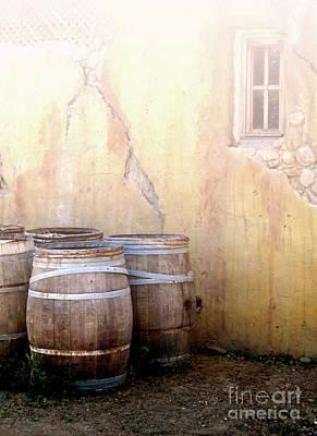Central Coast Winery Photograph - Tonneau De Vin by Maureen J Haldeman
