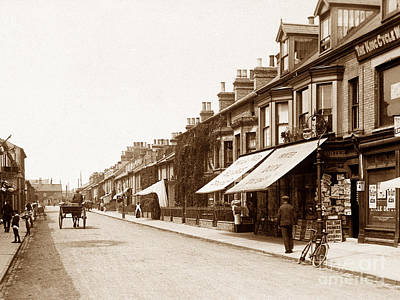 Tonning Street Lowestoft England Print by The Keasbury-Gordon Photograph Archive