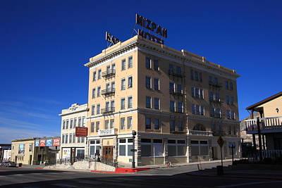 Tonopah Nevada - Mizpah Hotel Print by Frank Romeo