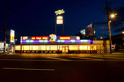Tony Lukes - Cheese Steaks Print by Bill Cannon