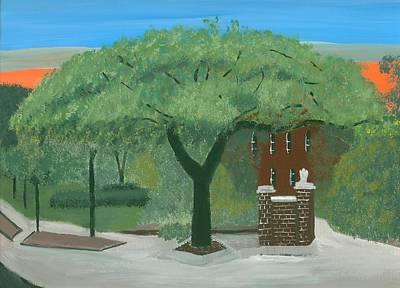 Toomers Oaks Painting - Toomers Corner by Kecia Ellis