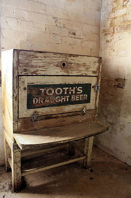 Tooth's Draught Beer Print by Ian  Ramsay