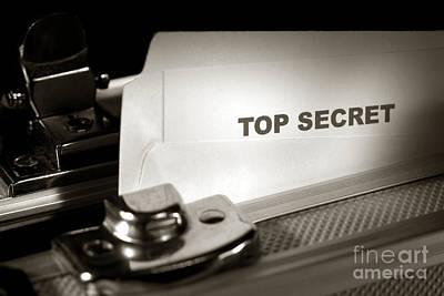 Top Secret Print by Olivier Le Queinec