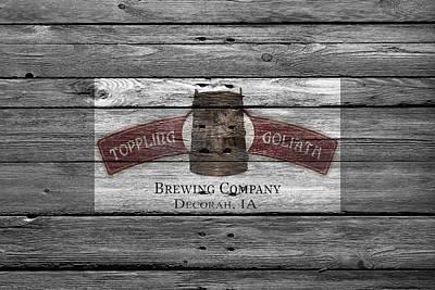 Hop Photograph - Toppling Goliath by Joe Hamilton