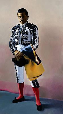 Spanish Matador Painting - Torero #1, 2005 by Joan Longas