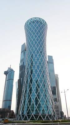 Qatar Photograph - Tornado Tower by Bob Edwards