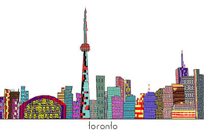 Toronto Print by Bri B