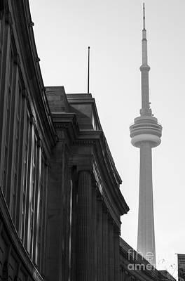 Toronto Cn Tower Print by Matt  Trimble