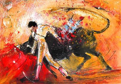 Animals Painting - Toroscape 58 by Miki De Goodaboom