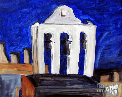 Torre De Iglesia De San Andres Print by Greg Mason Burns