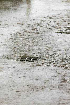Torrential Rain Print by Ashley Cooper