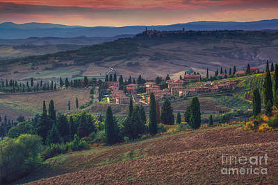 Toscana Print by Marco Crupi