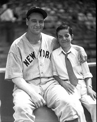 New York Great Lou Gehrig Print by Retro Images Archive