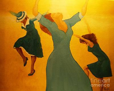 Shouting Painting - Total Praise by Barbara Hayes