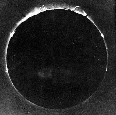 Total Solar Eclipse Print by Universal History Archive/uig