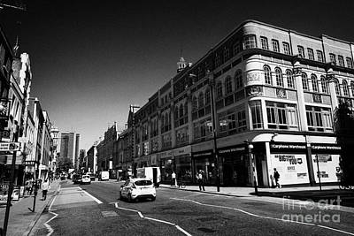 Tottenham Photograph - tottenham court road London England UK by Joe Fox