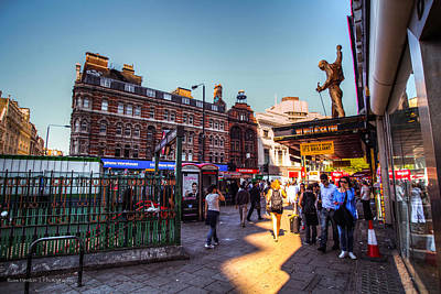 Tottenham Photograph - Tottenham Court Road by Ross Henton