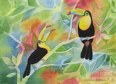 Toucan Play At This Game Original by Deborah Ronglien