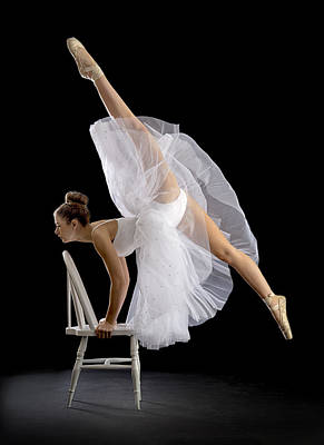 Ballet Dancers Photograph - Touch Of Class by Pauline Pentony Ba