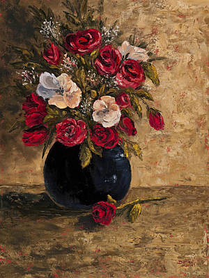 Impressionistic Still Life Painting - Touch Of Elegance by Darice Machel McGuire