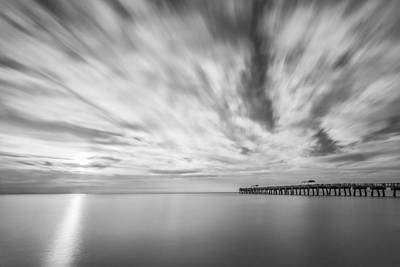 Beach Photograph - Touch The Clouds by Jon Glaser
