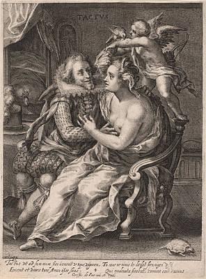 Touch, Willem Van De Passe, Crispijn Van De Passe Print by Willem Van De Passe And Crispijn Van De Passe (i)