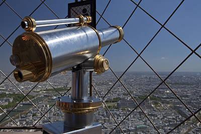 Photograph - Tour Eiffel 9 by Art Ferrier