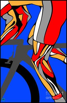 Tour Legs Print by Sassan Filsoof