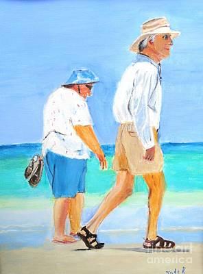 Figurative Painting - Tourist Season by Judy Kay