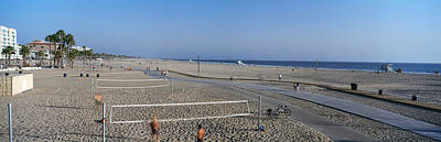 Volleyball Photograph - Tourists Playing Volleyball by Panoramic Images